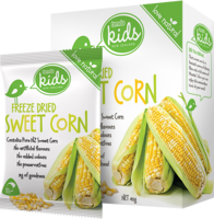 Tenda Freeze Dried Sweet Corn Packaging Image