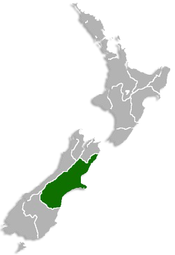 Nz Map Christchurch