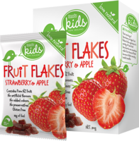 Tenda Fruit Flakes Strawberry & Apple Packaging Image
