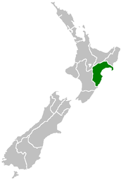 Nz Map Hawkes Bay