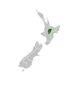 map taupo